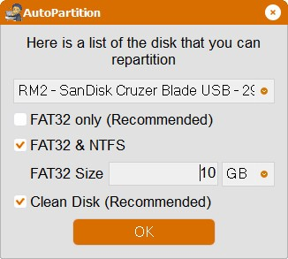 AutoPartition