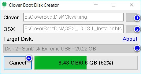 Create macOS Mojave bootable USB from Windows with Clover