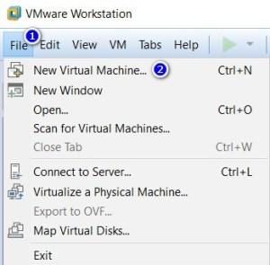 VMware Workstation - New Virtual Machine
