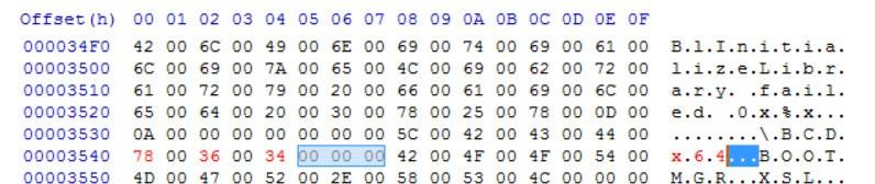 edit file bootmgr