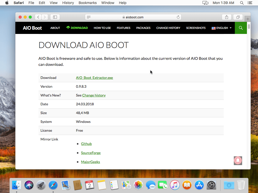 Download mac os x free