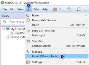Cài đặt VMware Tools