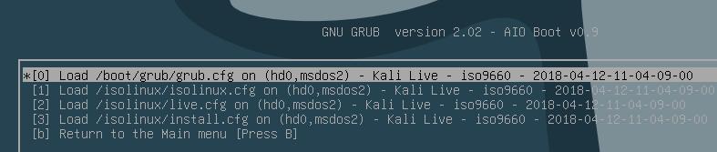 How to make a bootable usb to install Kali Linux, Ubuntu Server, Debian